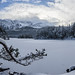 Frozen lake Eibsee by xxremixx
