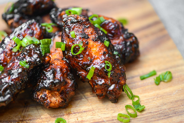 Smoked, Fried, and Grilled Barbecue Wings