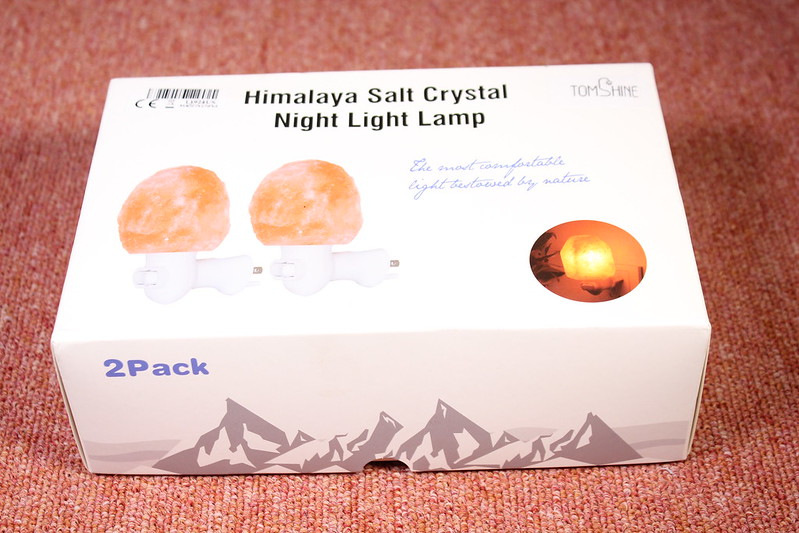 Tomshine ヒマラヤ産岩塩ライト 開封レビュー (1)