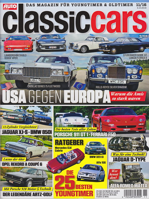 Auto Zeitung - Classic Cars 11/2016