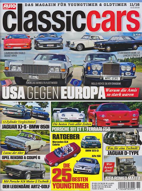 Auto Zeitung - Classic Cars 11/2016
