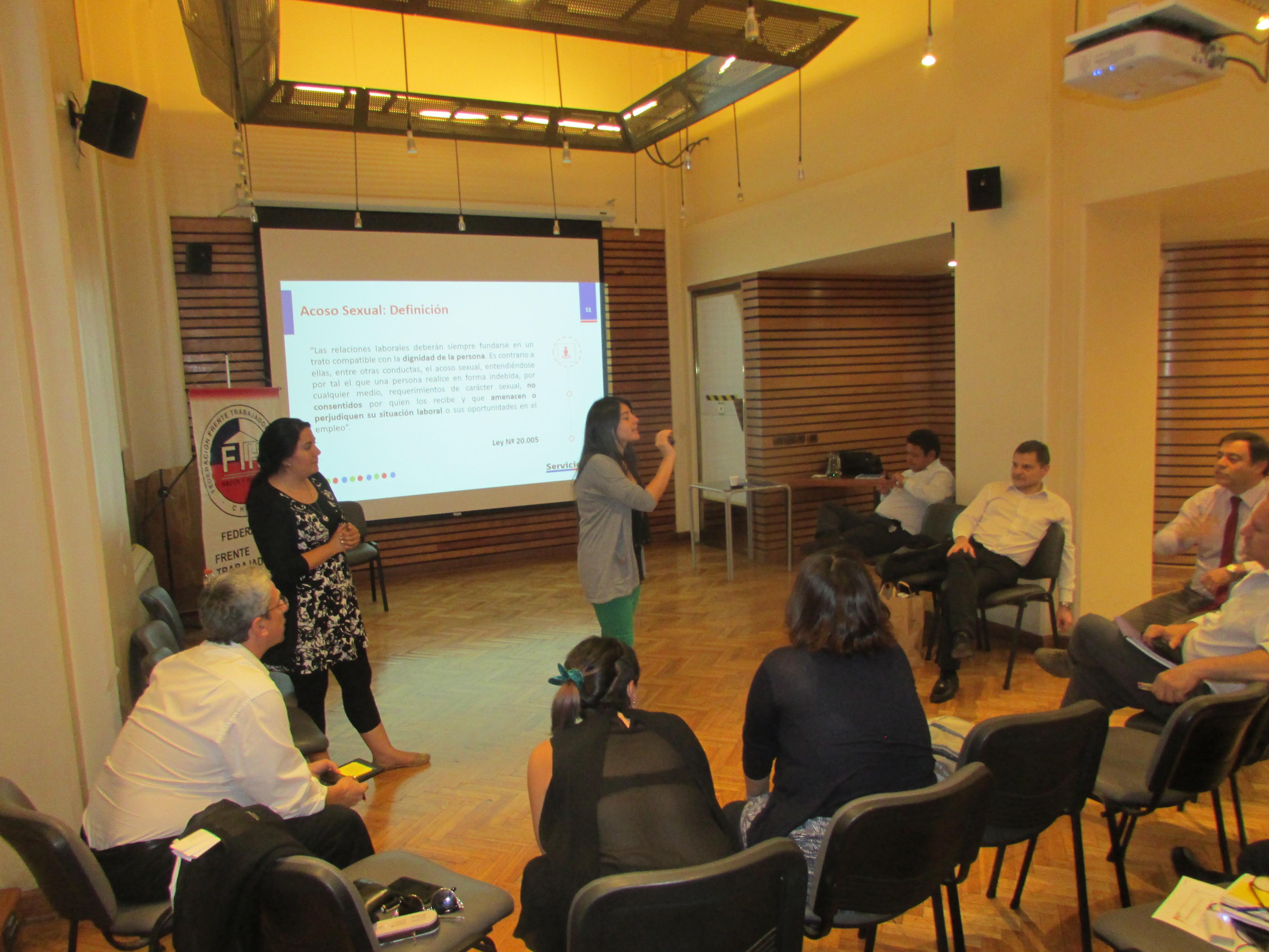 Cuarta Jornada de Escuela Sindical del FTH – 13 Diciembre 2017