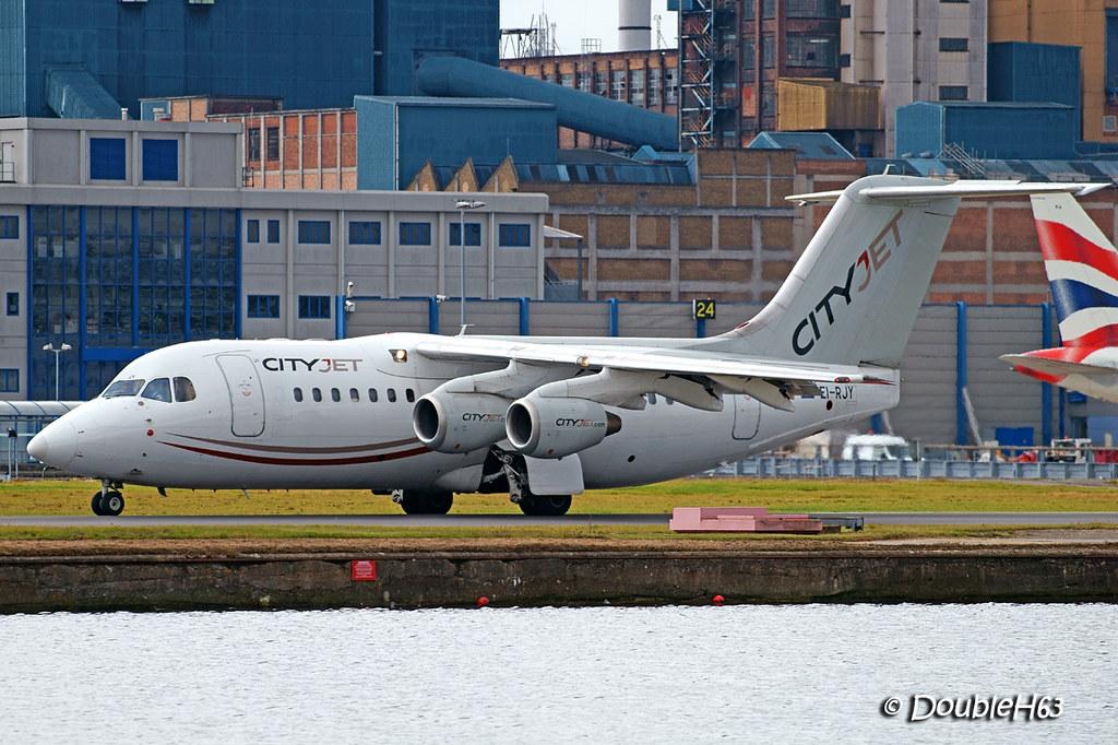 EI-RJY ARJ85 CityJet LCY