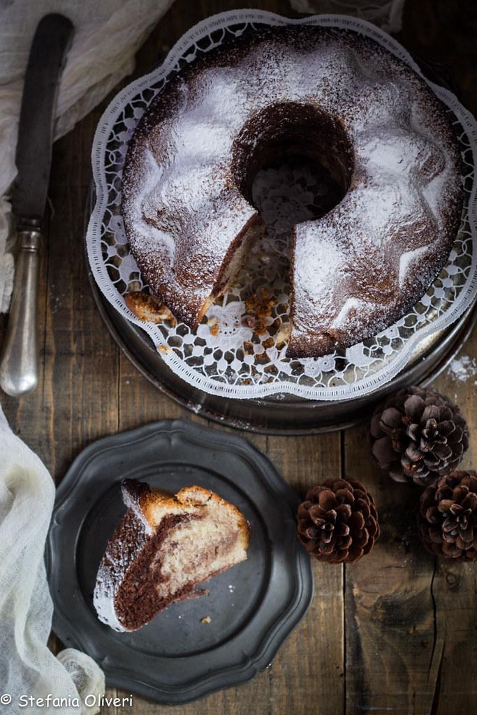 Torta marmorizzata senza glutine-9156