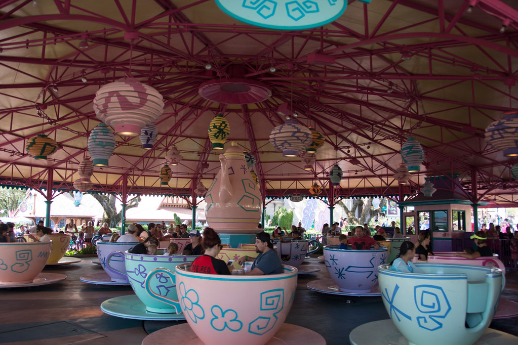 Mad Tea Party at Magic Kingdom