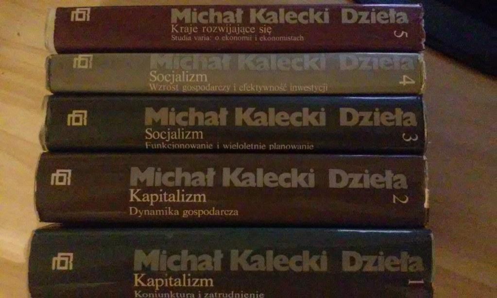 Michał Kalecki, Dzieła