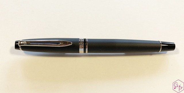 Review Waterman Expert 3 Matte Black Fountain Pen @KnightsWritingC 4