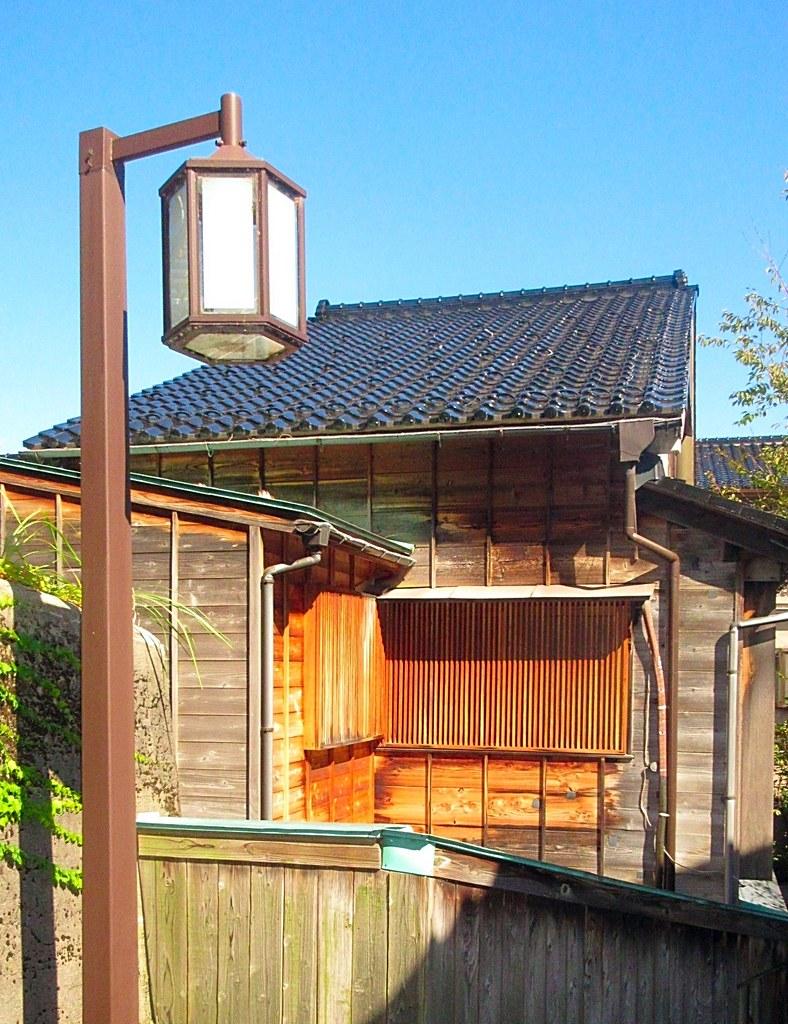 Japanese drummers Geisha District Kanazawa