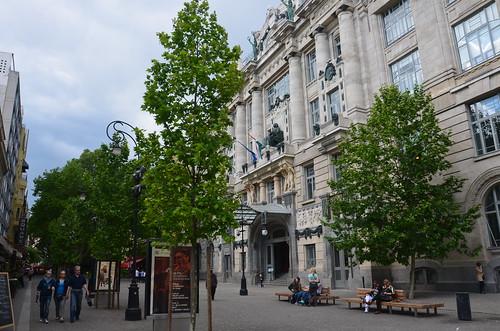 Der eher versteckte Eingang zur Franz Liszt Akademie