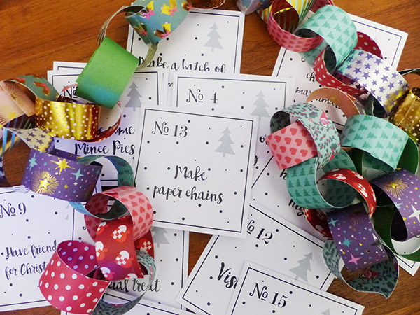 make paper chains