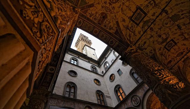 Palazzo Vecchio. Cortile di Michelozzo