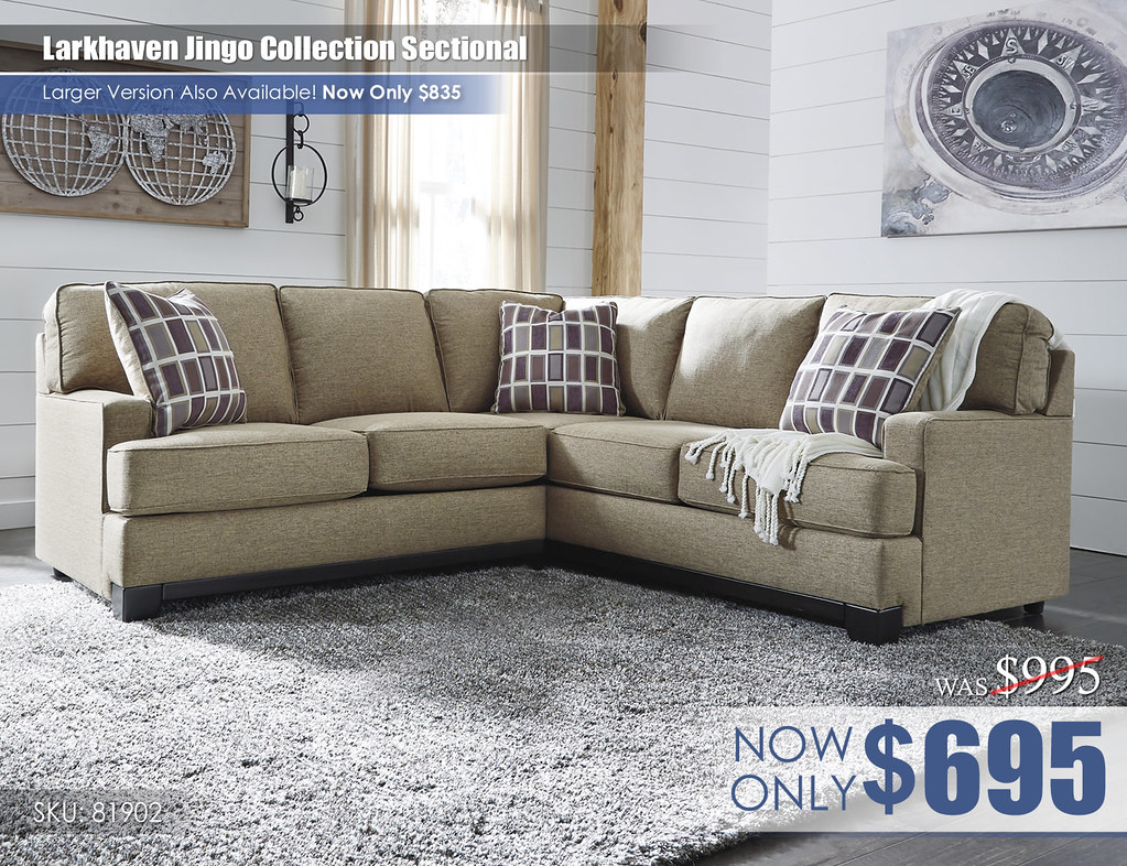 Larkhaven Jingo Collection Sectional 81902-55-49