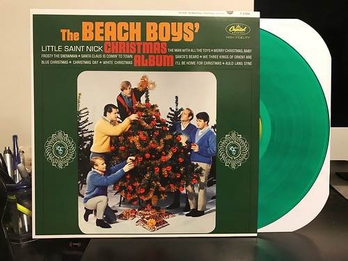 the beach boys christmas album lp green vinyl 1000 - Beach Boys Christmas