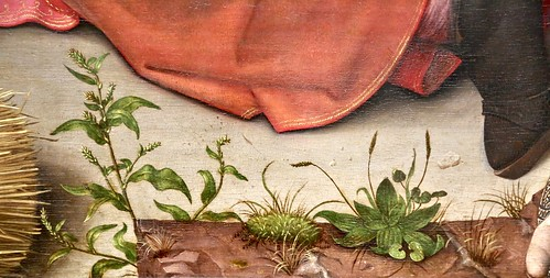 Hugo van der Goes. Adoration of the Shepherds (c. 1480) – detail