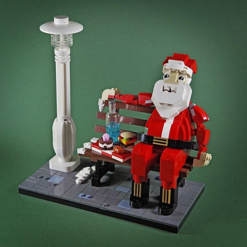【狗神磚創Moc】腹黑的聖誕老人X Scheming Santa Claus