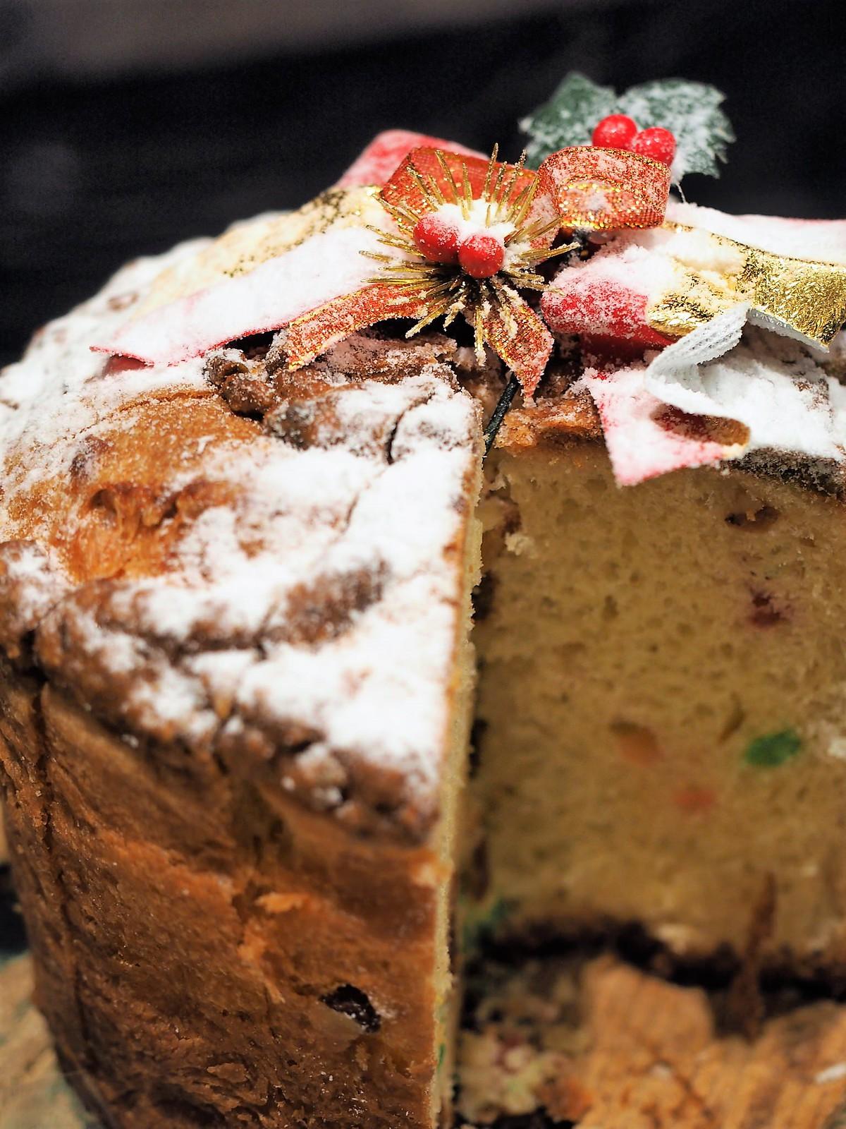 Christmas butter cake
