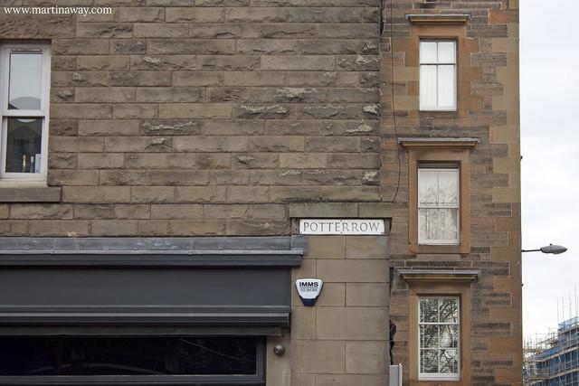 Potterrow, Edimburgo Harry Potter