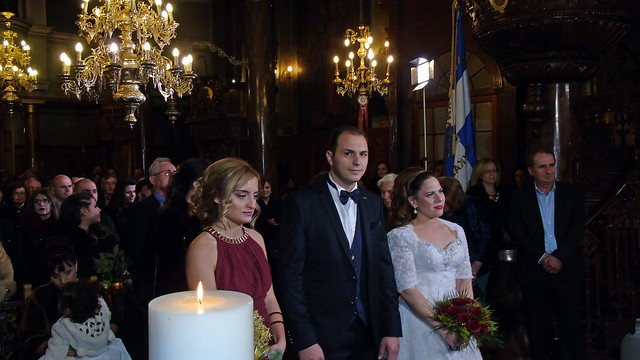 Γάμος Κωνσταντίνου Β. + Αργυρώς Λ.