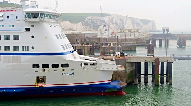 English Channel Ferry Dover Calais