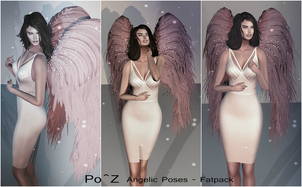 Po^Z @ Fashion Dazzle event – Angelic poses