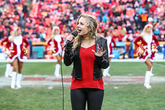 Mackenzie Nicole live at Arrowhead Stadium 2017