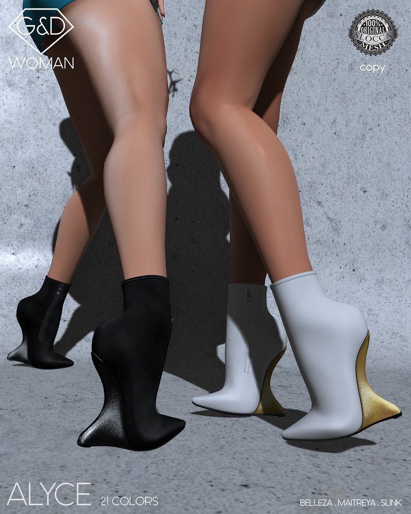G&D Ankle Boots Alyce 01 adv - TeleportHub.com Live!