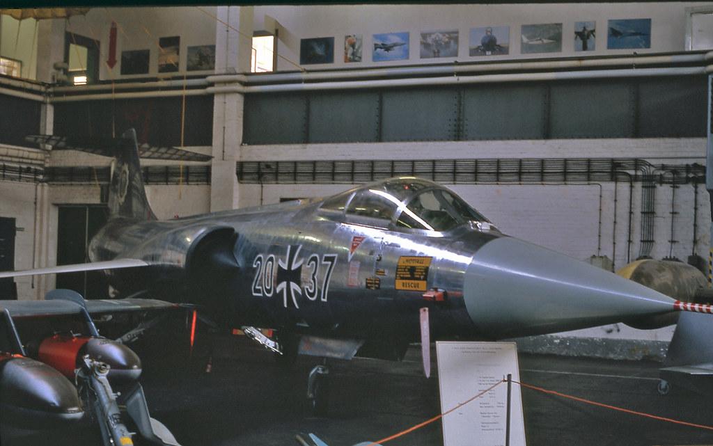 20+37, Lockheed F-104G Starfighter, (2044), Luftwaffe,  Uetersen - Luftwaffe Museum, (EDHE), 25/04/1991