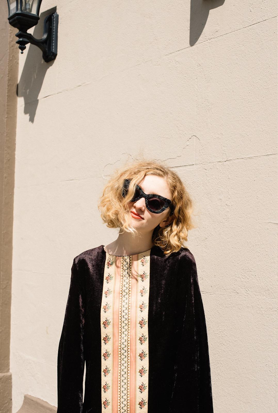 Vintage Style from Oonas shot by Lauren O'Neil on juliettelaura.blogspot.com