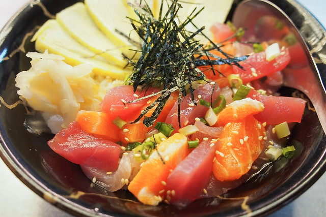 仁愛市場二樓A46阿伯的店、珍之味壽司|基隆–平實好料,台味壽司