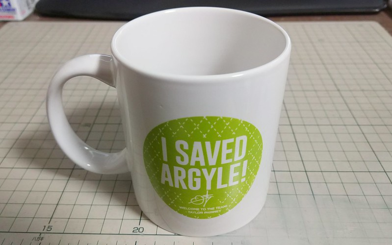 I SAVED ARGYLE!