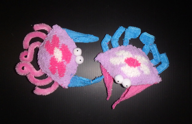 How to make plushie crabs