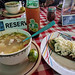 Pozole and a tlacoyo, Puebla por Second-Half Travels