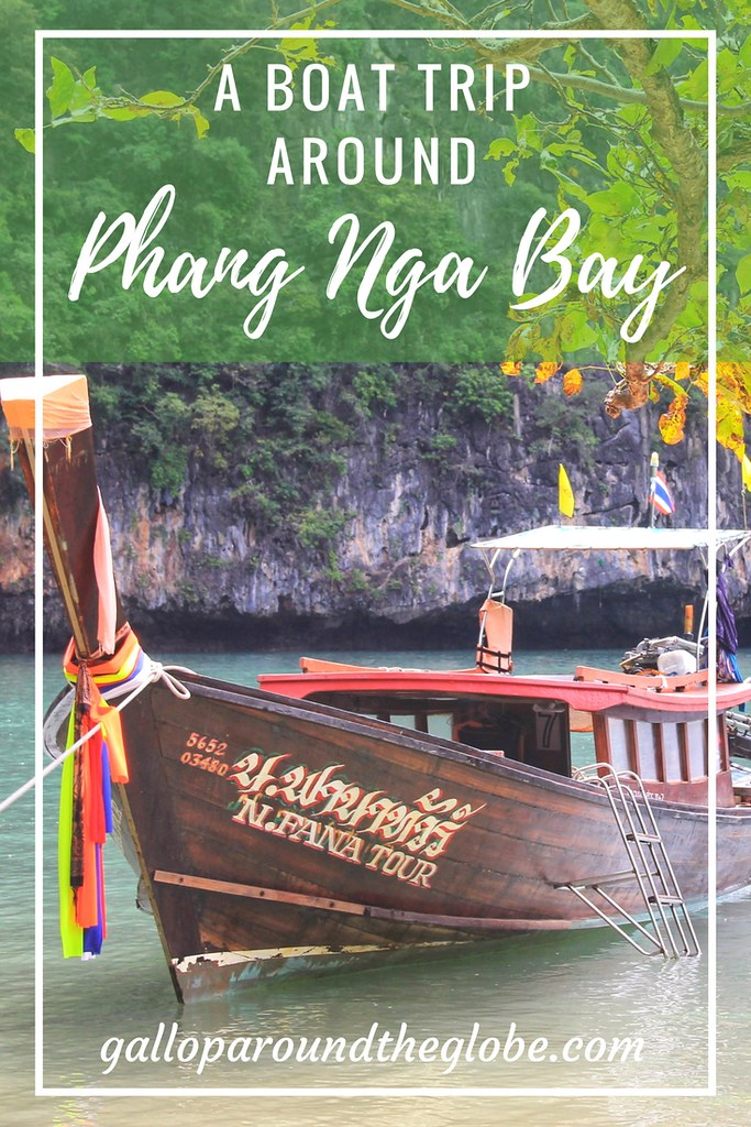 A Boat Trip Around Phang Nga Bay, Thailand