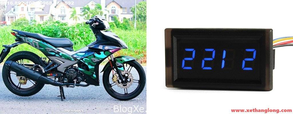 Đồng hồ xem giờ cho xe máy YAMAHA