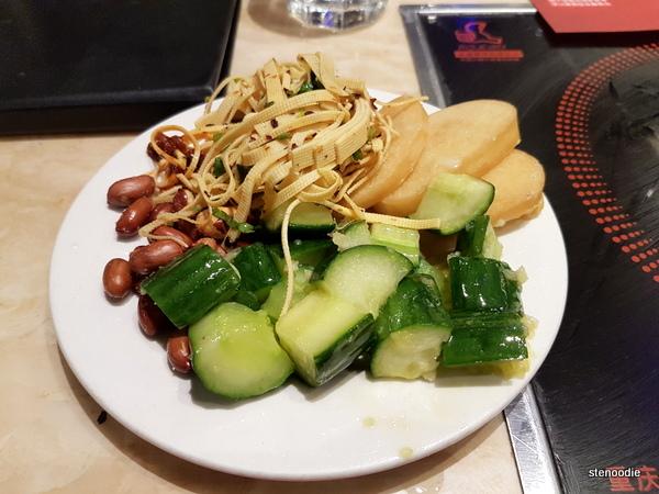 Chongqing Liuyishou Hotpot appetizers