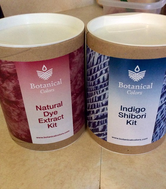 Botanical Colors natural dye kits for home dyeing