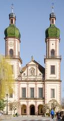 Façade de l'Abbaye d'Ebersmunster