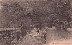 58. Château de Maintenon - Un coin du Parc (c.1910)