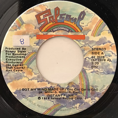 INSTANT FUNK:I GOT MY MIND MADE UP(LABEL SIDE-A)