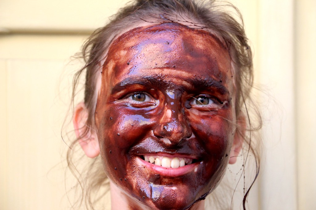 Make-up of chocolate