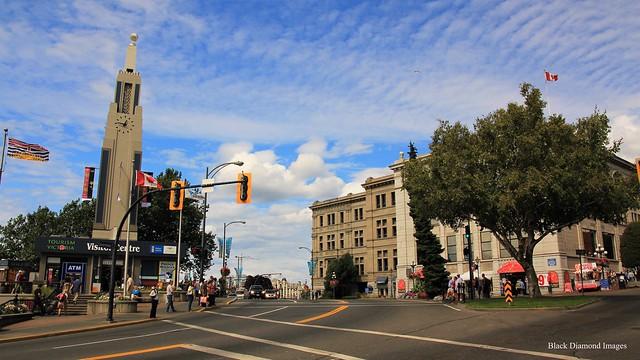 Tourism Victoria Visitor Centre & Port Victoria Trading Company Buildings, Victoria, British Columbia, Canada