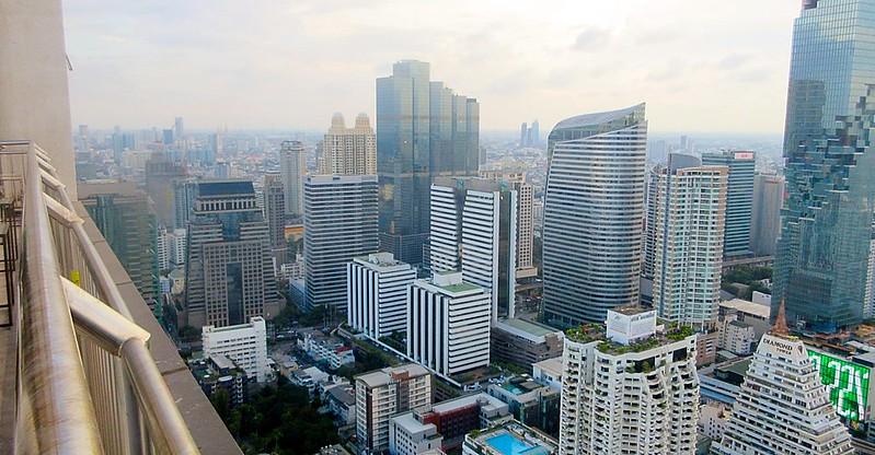 Bangkok City Enjoying Building Boom