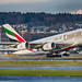A6-EEH Emirates Airbus A380-800 A388 c/n 119 Zurich Airport LSZH ZRH 01.12.2017