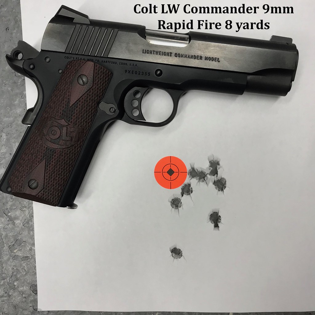1911 Commander more concealable than a Glock 19? Surprisingly much
