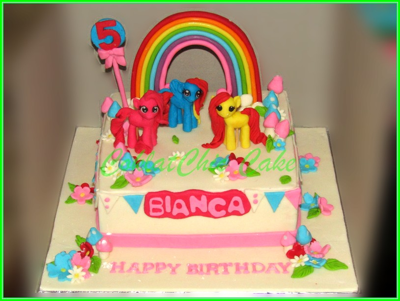 Cake My Little Pony BIANCA 22cm
