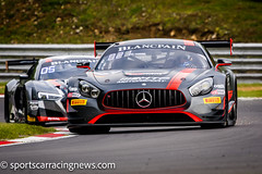 HTP Motorsport Mercedes AMG GT3 Blancpain Endurance Series Brands Hatch 2017 Sportscar Racing News