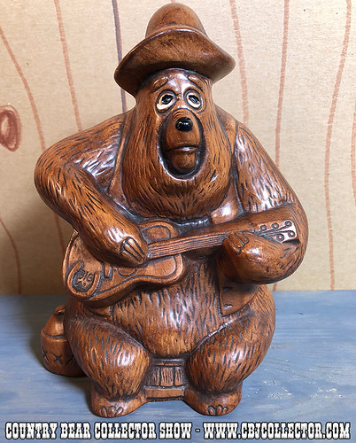 Vintage 1970s Disney Parks Big Al Piggy Bank - Country Bear Collector Show #134