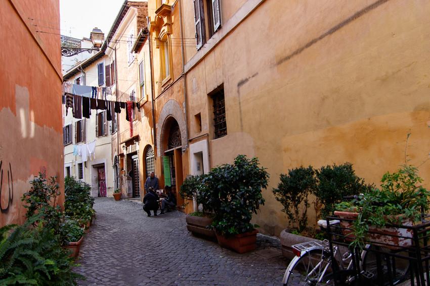Trastevere Rome Italy November travelling-1761