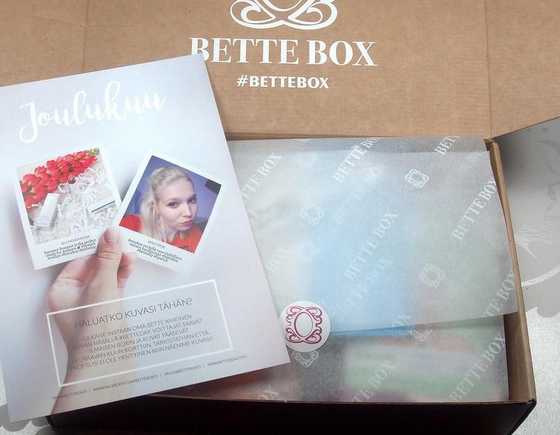 Joulukuun Bette Box
