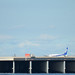 ANA B767 JA8569 on D-runway in Haneda Airport 6